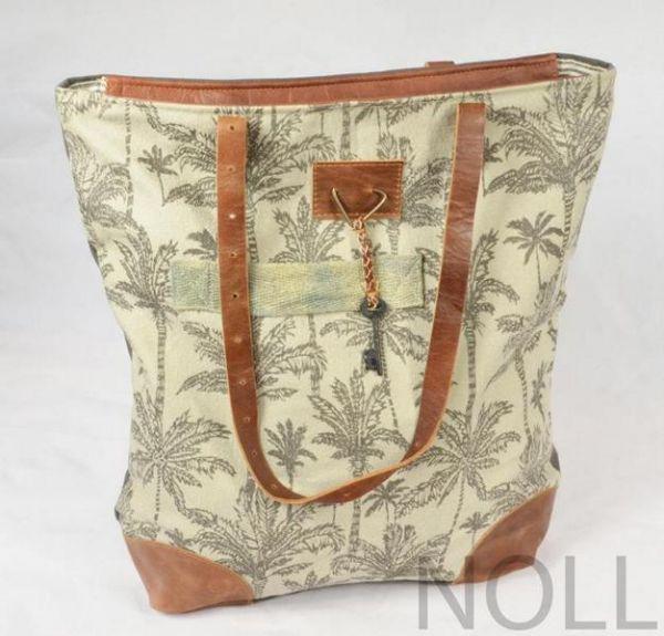Handtasche Canvas Shopper Colmore Bäume
