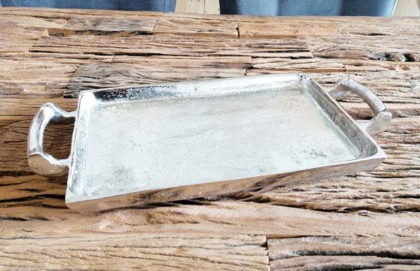 Tablett Silber 42 cm