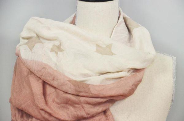 Schal mit Sternen Halstuch