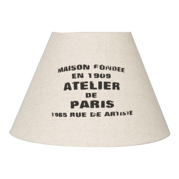 Lampenschirm Paris Clayre & Eef Ø22x14 cm