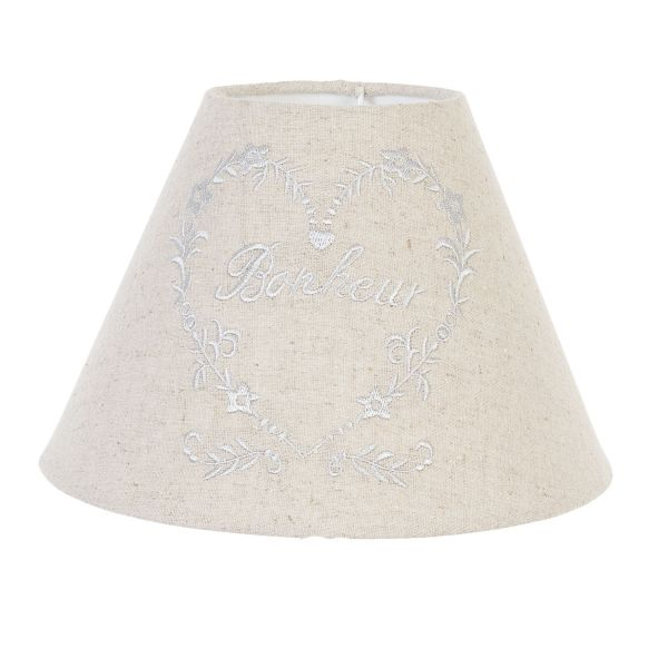 Lampenschirm Herz Clayre & Eef Ø22x16 cm