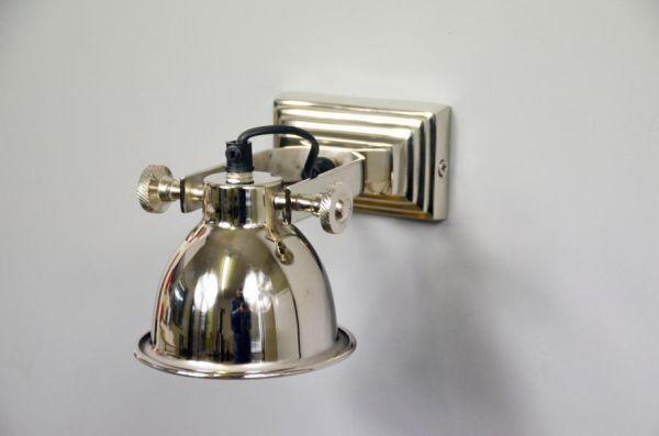 Wandlampe Aluminium Silber Colmore Single