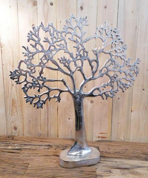 Schmuckbaum Dekobaum Silber XXL 63 cm