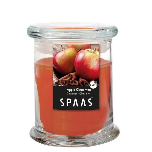 Duftkerze in Glas Apfel Zimt 60H