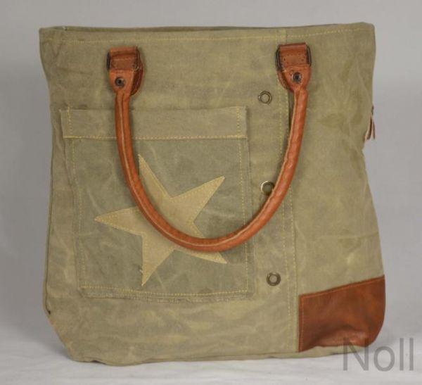 Handtasche Canvas Shopper Colmore Small