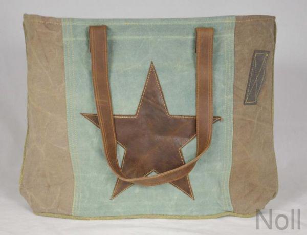 Handtasche Canvas Shopper Colmore Stars