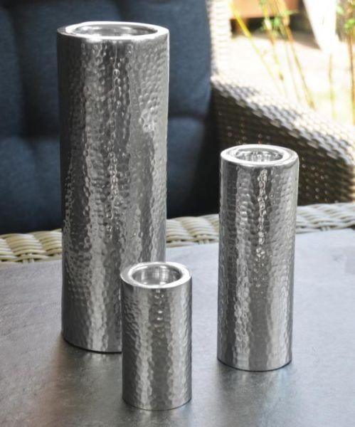 Kerzenständer Silber 3er Set