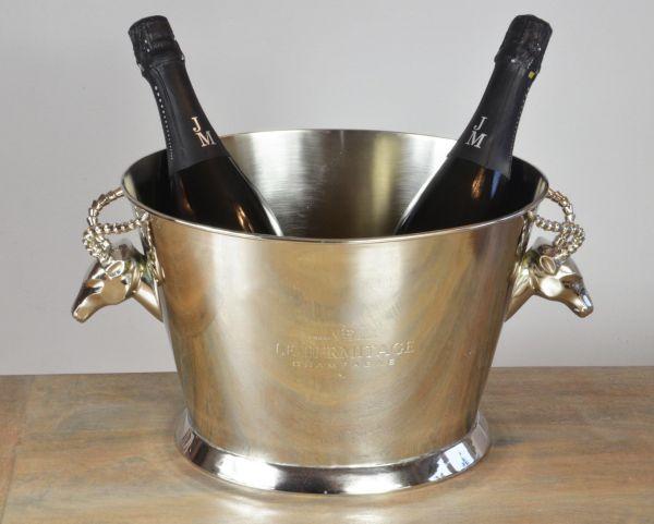 Champagnerkühler Steinbock XXL