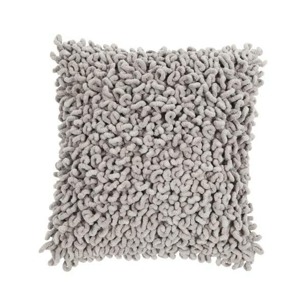 Kissen Talli inkl. Füllung Grau 45x45 cm