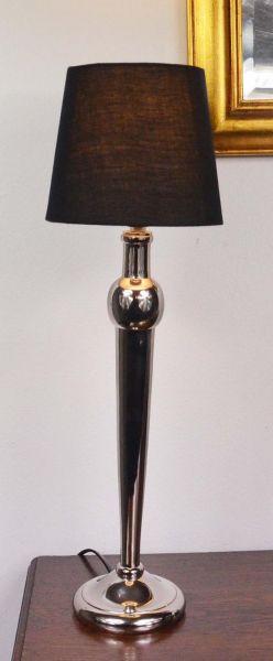 Tischlampe Colmore inklusive Lampenschirm Silber