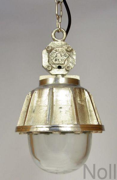 Deckenlampe Industrial Glas