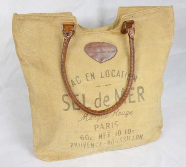 Handtasche Lederapllikationen Shopper Colmore