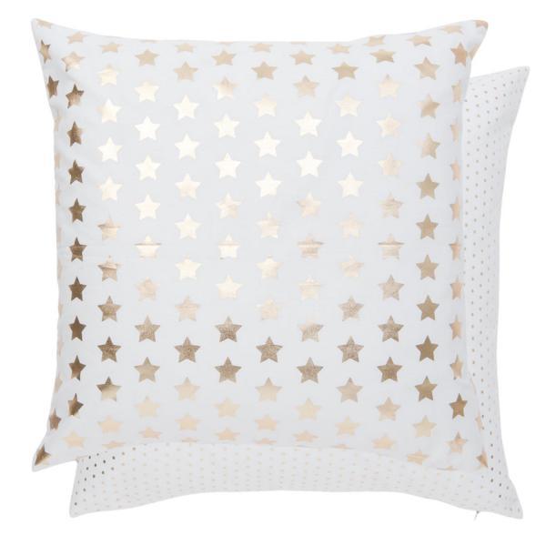 kissen mit vielen kleinen sternen online kaufen michael noll. Black Bedroom Furniture Sets. Home Design Ideas