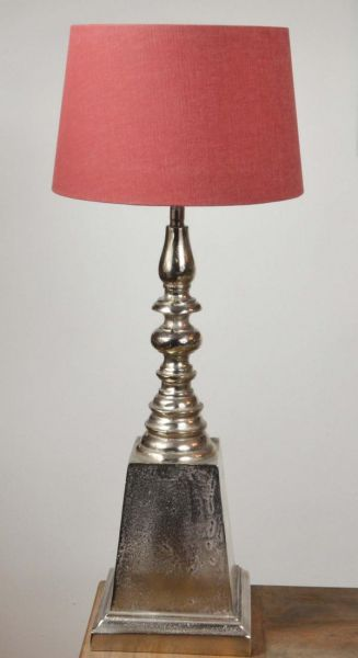 Tischlampe Lampenschirm Colmore Massiv