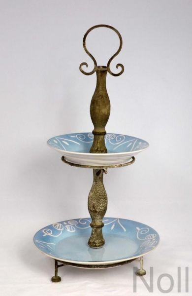 Etagere Griff Keramik Landhaus
