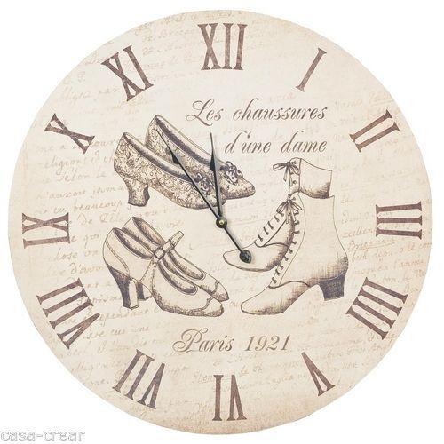 Wanduhr XXL Paris 1921 Clayre & Eef