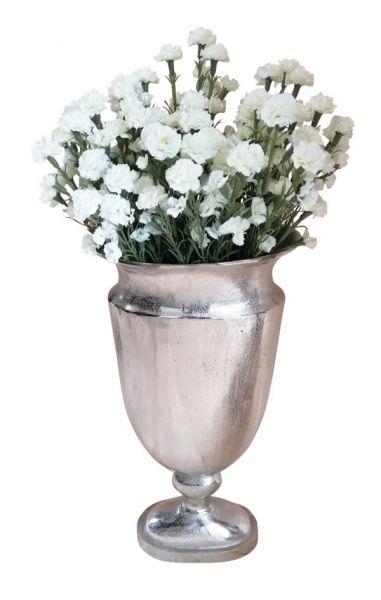 Vase Silber 66 cm
