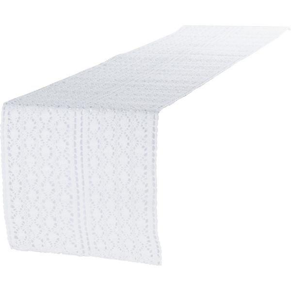 Tischläufer Mirthe 2LIF Läufer Weiß 30x140 cm