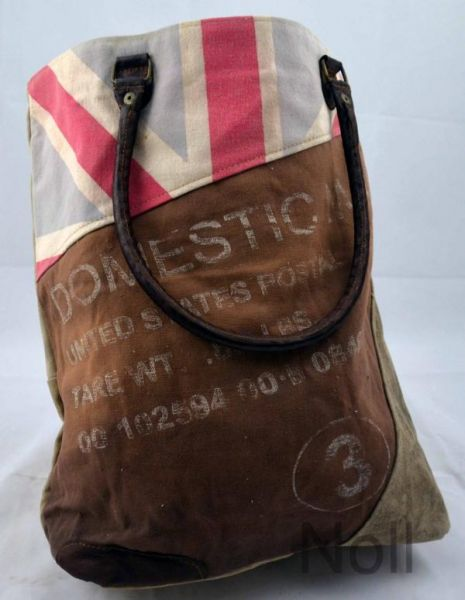 Handtasche Canvas Shopper Colmore Flagge
