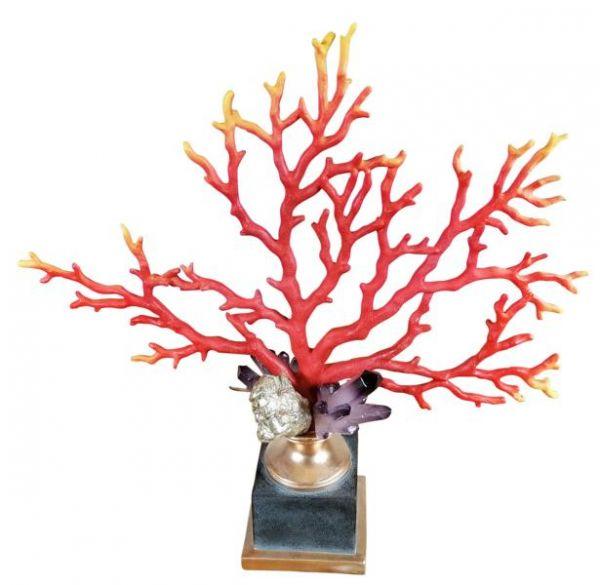 Koralle Statue XXL 47,5 cm