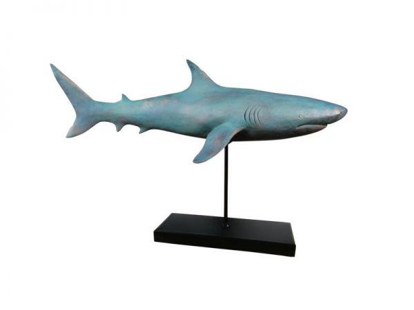 Hai Figur Statue XXL 59x24x38,5 cm