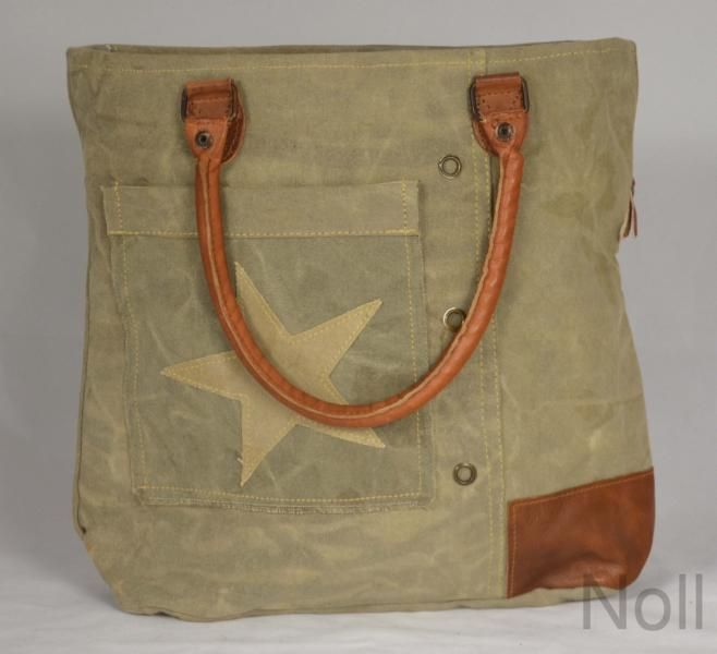 Handtasche Canvas Shopper Colmore Small