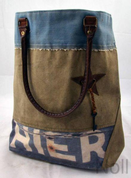 Handtasche Canvas Shopper Colmore Hier